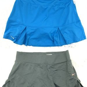 2 Lot of Nike Dri Fit Athletic Tennis Skirts S